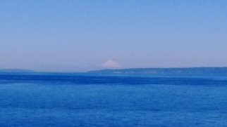 Rainier from Puget Sound