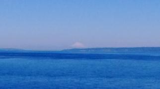 Rainier from Puget Sound